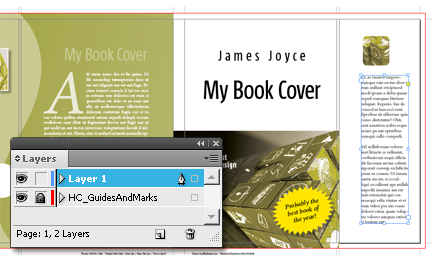 Design the book jacket, HurryCover will do the rest…