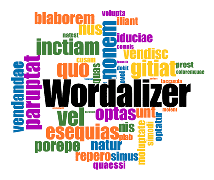 "Wordalizer is a ""word cloud"" generator script for InDesign CS4."